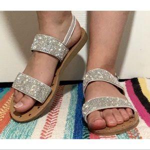 New Sparkled Sandals